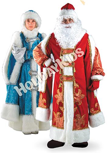 Новогодний праздник с Дедом Морозом и Снегурочкой