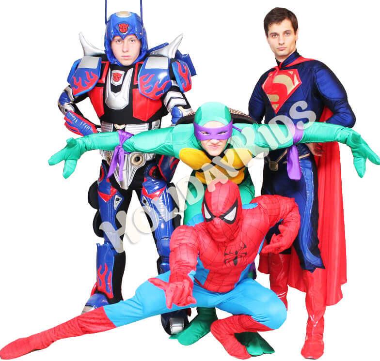 Шоу супергероев