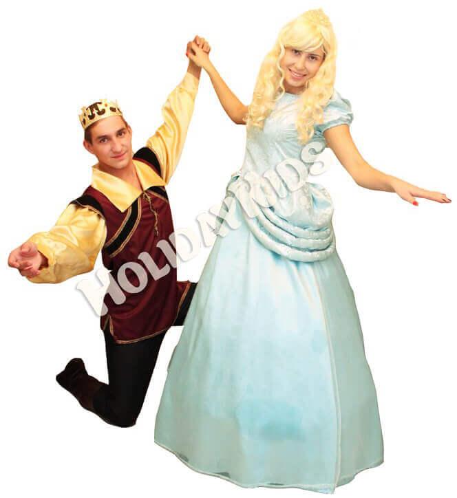 Аниматры Золушка и Принц