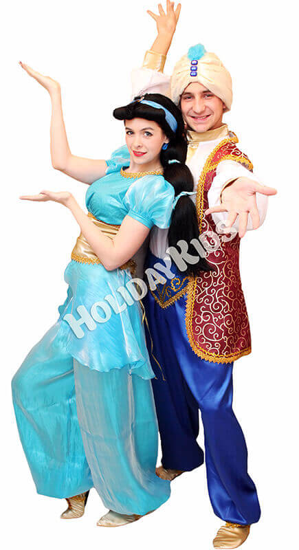 Жасмин и Алладин