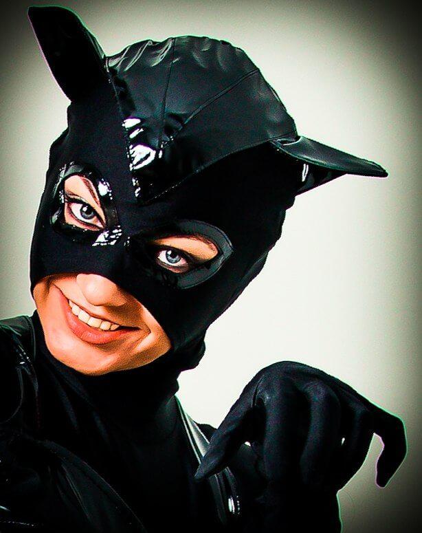 Аниматоры Бетмен и Женщина кошка
