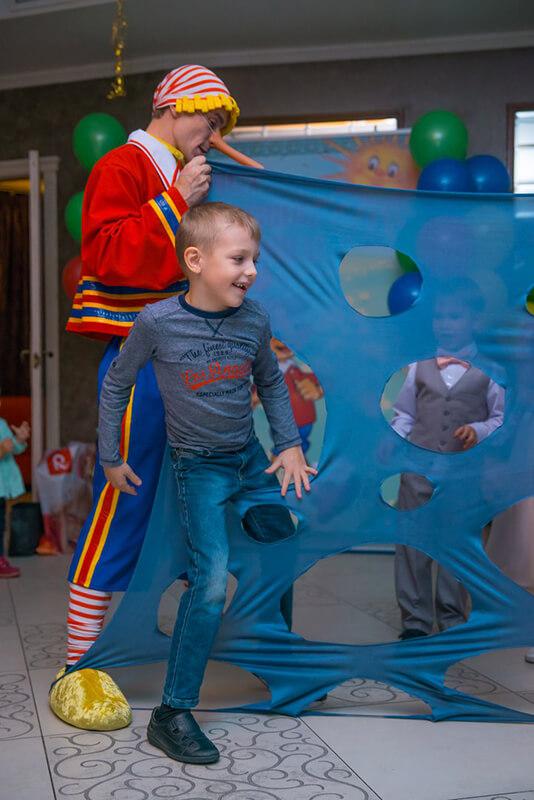 Аниматоры Мальвина и Буратино на детский праздник в Москве