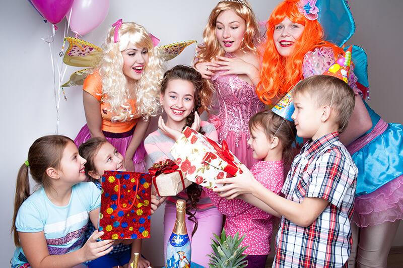 Детский праздник с феями Винкс
