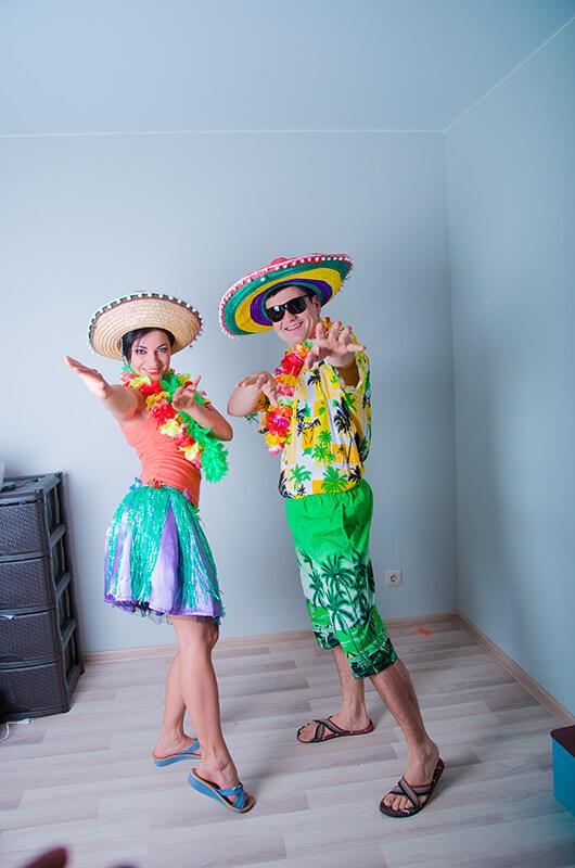 Аниматоры Гавайская вечеринка