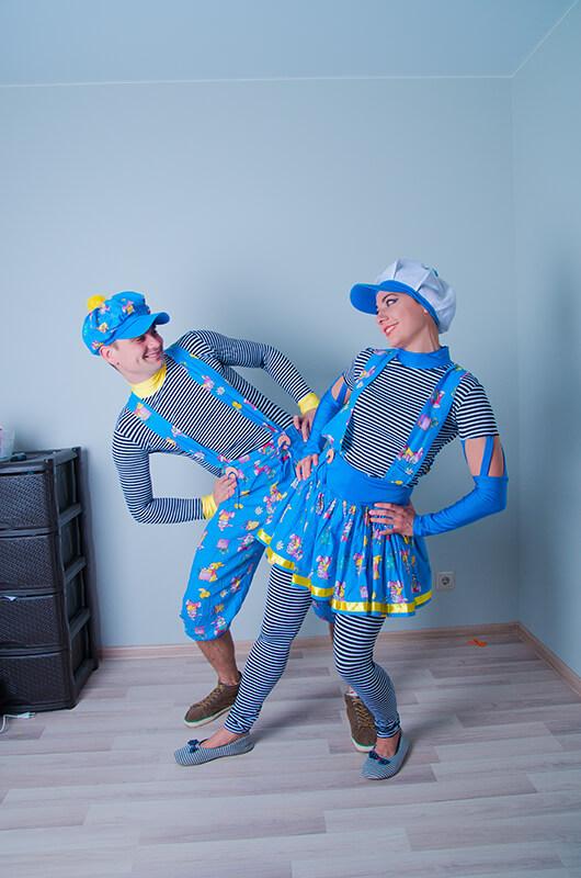 Аниматоры Морячки Кэп и Мэри