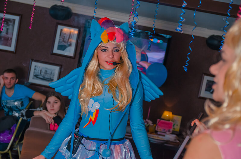 аниматоры Литл Пони - Little pony на детский праздник в Москве