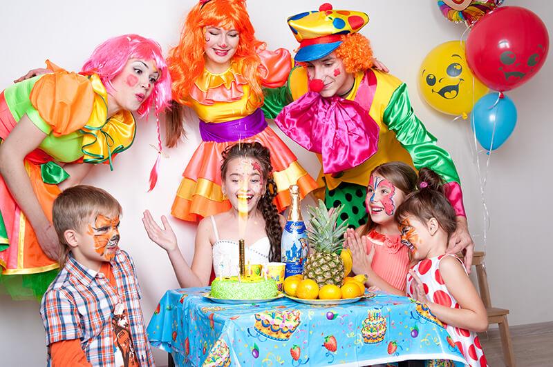 аниматоры на детском празднике