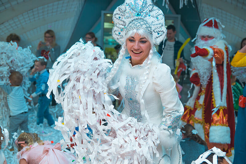 Дед Мороз и снегурочка на дом 2019