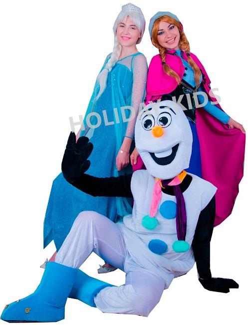 Анна и Эльза Холодное сердце
