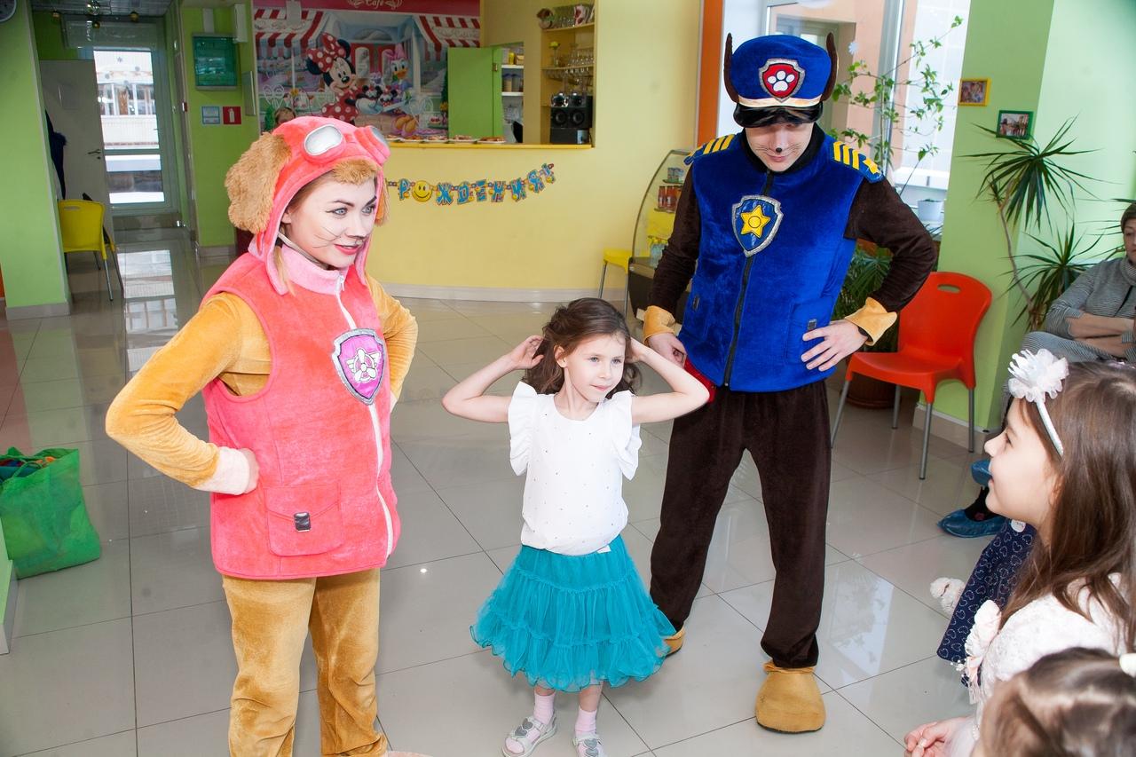 Щенячий патруль на детский праздник