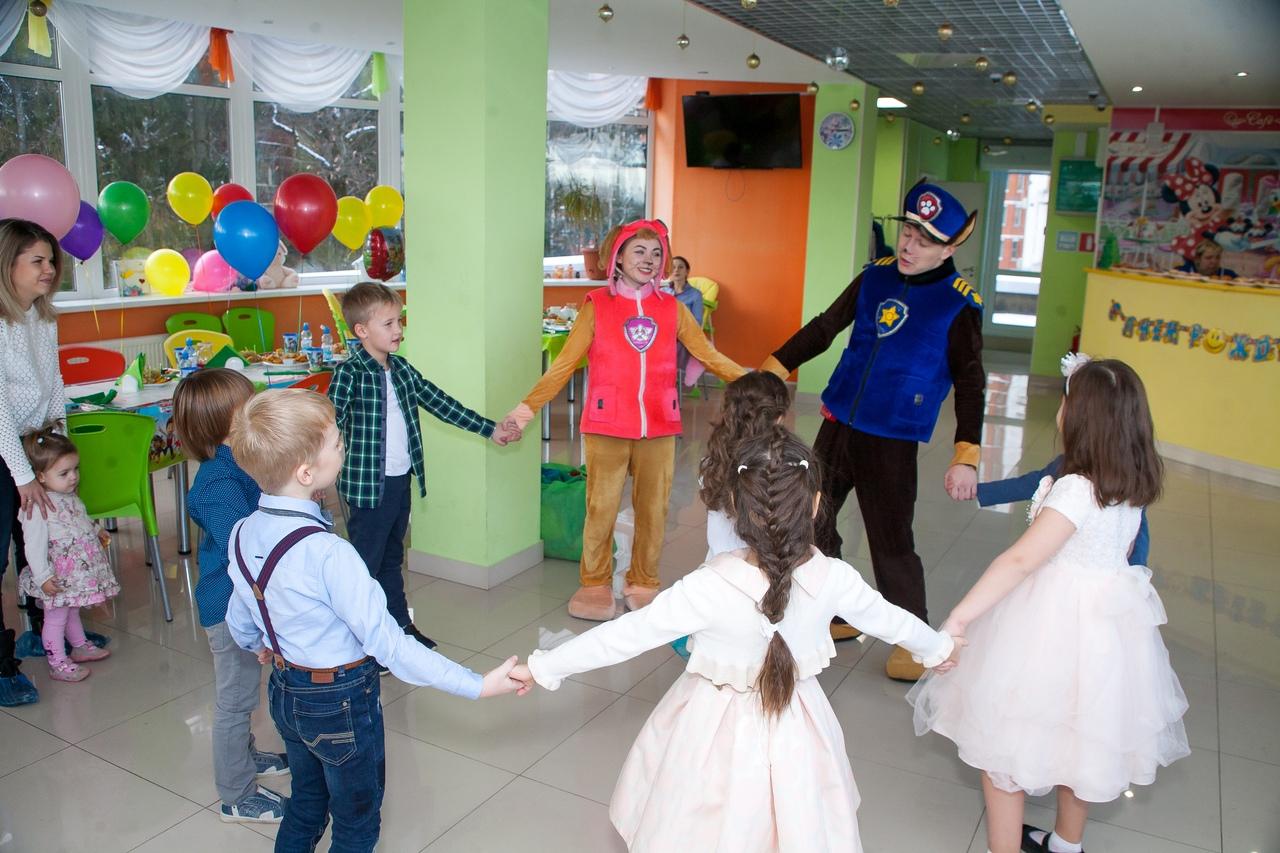 Детский день рождения с аниматорами Щенячий патруль
