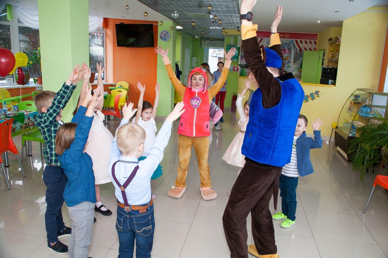 Праздник в детском саду с Щенячьим патрулём