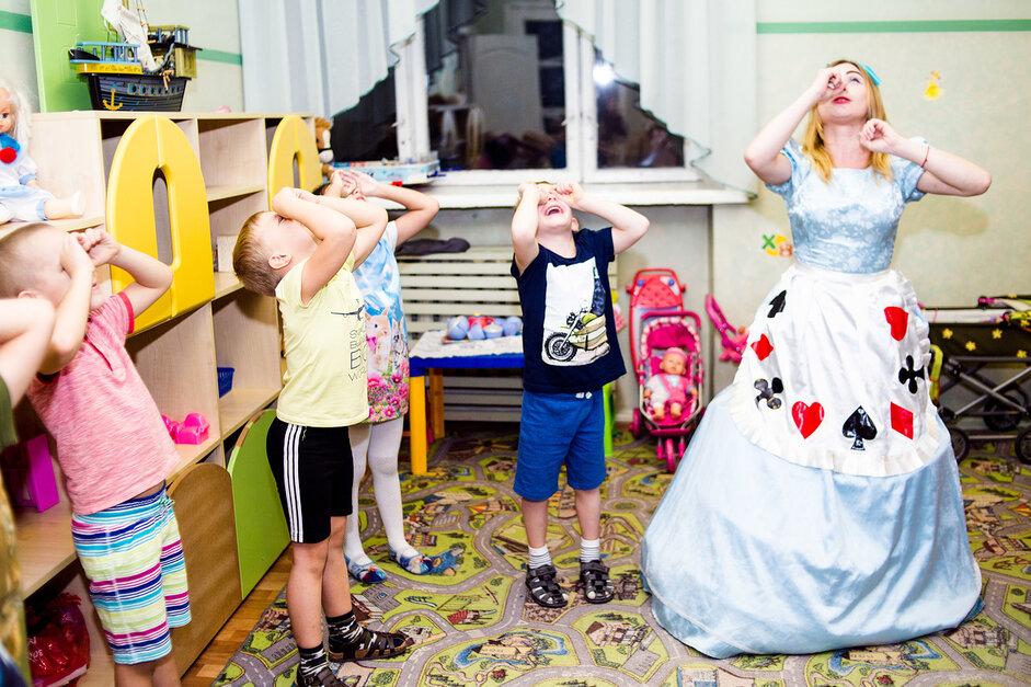 Аниматор Алиса в детском саду