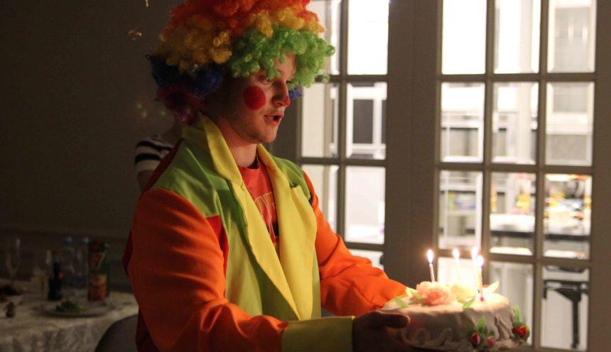 Клоун – отличный выбор на день рождения
