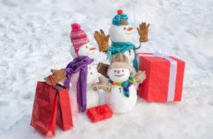 змний день рождения снеговиков