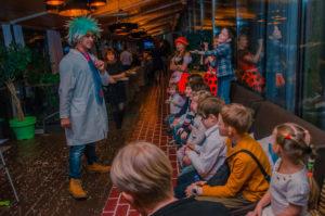 детский праздник в кафе с аниматорами
