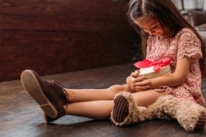 праздник заряжает ребенка позитивом