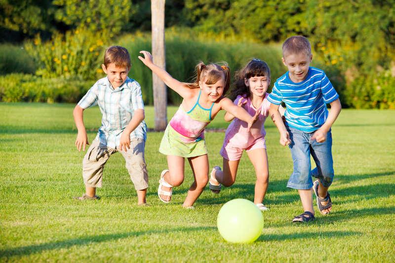 подвижные игры - отличный способ развлечения на детский праздник