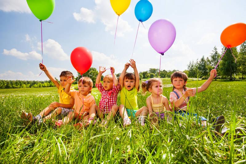 плюсы проведения детского дня рождения на природе