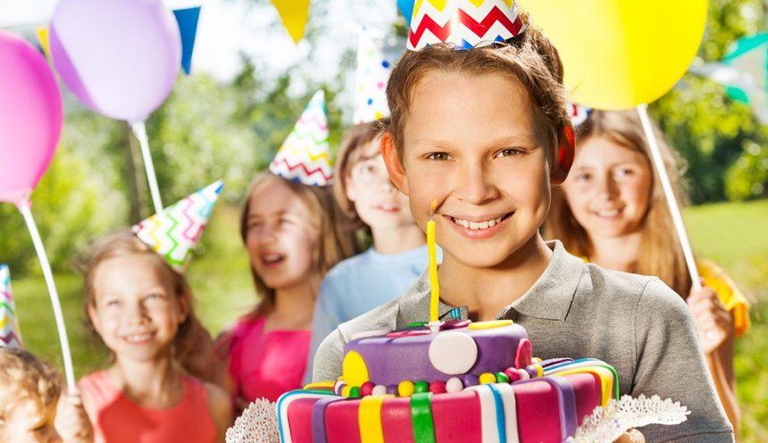 День рождения — 10 лет! Как отметить первый юбилей ребёнка