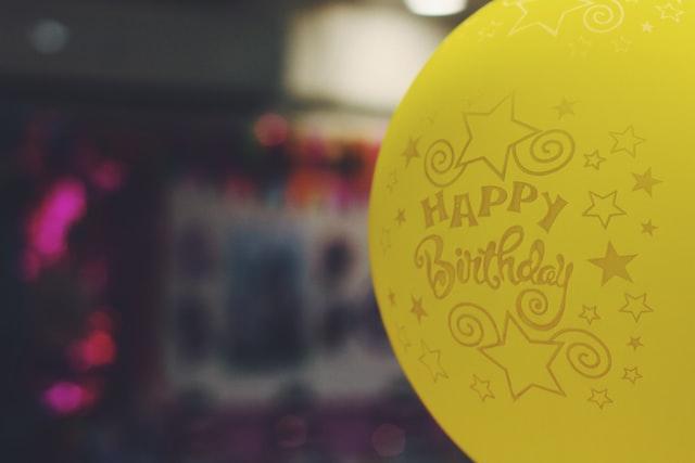 шарики на дне рождения